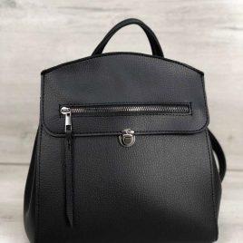 сумка-рюкзак Дэбра черного цвета