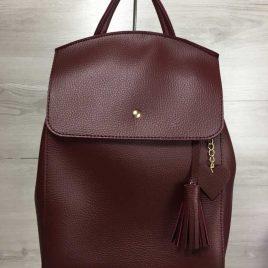 сумка-рюкзак Харди бордового цвета