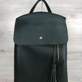 сумка-рюкзак Харди зеленого цвета