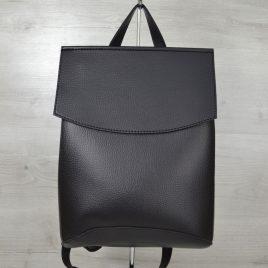 Сумка рюкзак черного цвета трансформер