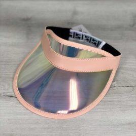 Перламутровая солнцезащитная кепка с пудрой
