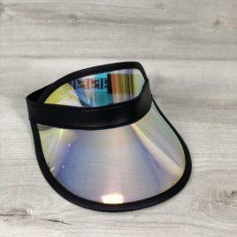 Перламутровая солнцезащитная кепка с черным