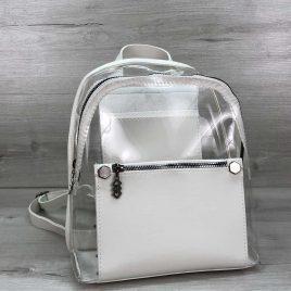 Рюкзак Боннита белый прозрачный