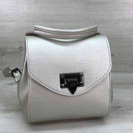 Сумка-рюкзак Christy серебро