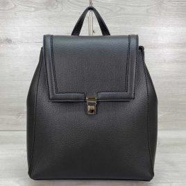 Классический сумка-рюкзак трансформер Луи черный
