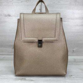 Классический сумка-рюкзак трансформер Луи золотой