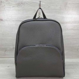Женский классический рюкзак Дин серый