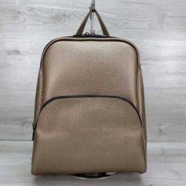 Женский классический рюкзак Дин золотой