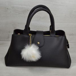 сумка Аманда черного цвета