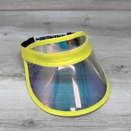 Перламутровая солнцезащитная кепка с желтым
