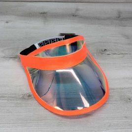 Перламутровая солнцезащитная кепка с оранжевым
