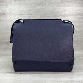 Женская синяя сумка Джед наплечный мессенджер