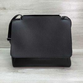 Женская черная сумка Джед наплечный мессенджер