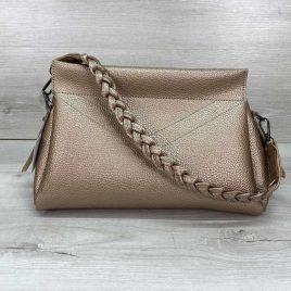 Женская сумка клатч Paris золотая