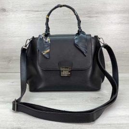 Женская сумка клатч Лиам черного цвета