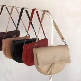 Женская сумка седло