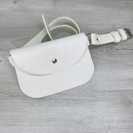 Поясная сумка Kim белая