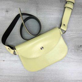 Поясная сумка Kim желтая