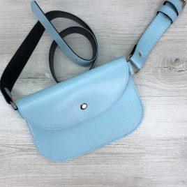 Поясная сумка Kim голубая