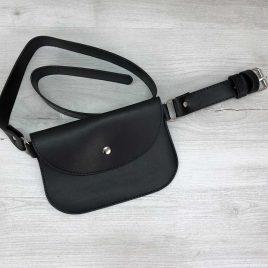 Поясная сумка Kim черная