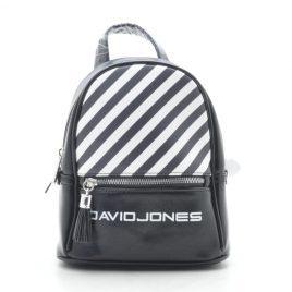 Рюкзак D. Jones black (черный с белым)