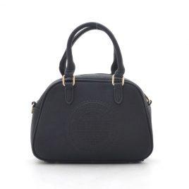 Женская черная сумка среднего размера Dovili Milano