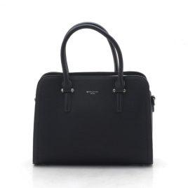 Женская классическая сумка David Jones CM4013T black черная