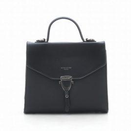 Черный каркасный клатч David Jones TD014 black
