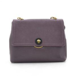 Женская фиолетовая сумка среднего размера David Jones CM5417T d. purple