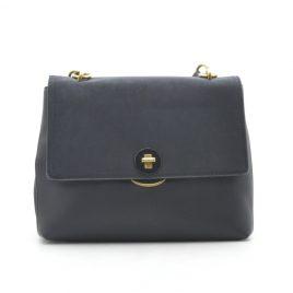 Женская черная сумка среднего размера David Jones CM5417T black