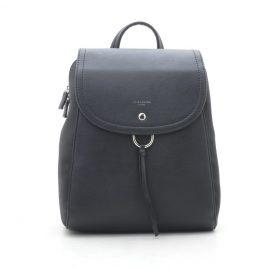 Рюкзак черный классический David Jones G-9206T black