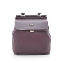 Рюкзак-сумка трансформер марсала David Jones 5954-2T d.purple