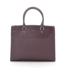 Женская бордовая сумка David Jones CM5345 d. bordeaux