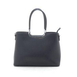 Женская классическая черная сумка Dovili Milano
