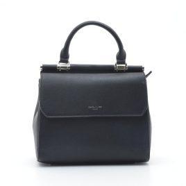 Женская сумка David Jones 6131-1T black черная