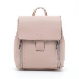 Рюкзак трансформер пудровый David Jones CM5494T pink розовый