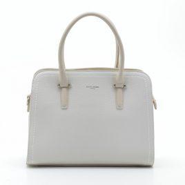 Женская классическая сумка David Jones CM4013T beige бежевая