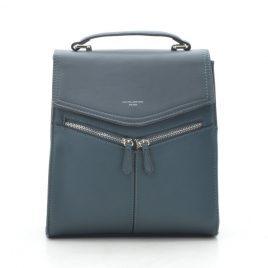 Рюкзак зеленый классический David Jones TD012 d. green