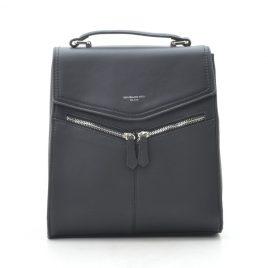 Рюкзак черный классический David Jones TD012 black