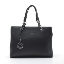 Черная женская сумка Dovili Milano классическая