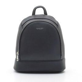 Женский черный сумка рюкзак трансформер