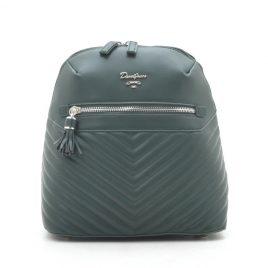 Рюкзак городской стеганый зеленый David Jones CM5423T d. green