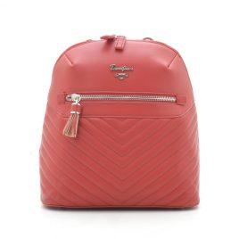 Рюкзак городской стеганый красный David Jones CM5423T red