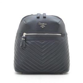 Рюкзак городской стеганый черный David Jones CM5423T black