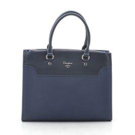 Женская синяя сумка David Jones CM5345 d. blue
