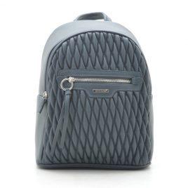 Рюкзак стеганый David Jones 6152-4T d. green зеленый