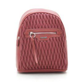 Рюкзак стеганый David Jones 6152-4T red красный