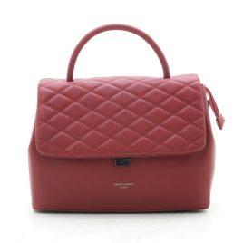 Красная стеганая сумка David Jones CM5427 d. red