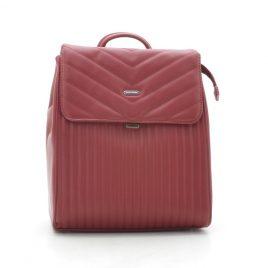 Рюкзак стеганый красный David Jones 6158-2 dark red