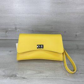 Желтая сумка на пояс Пэт